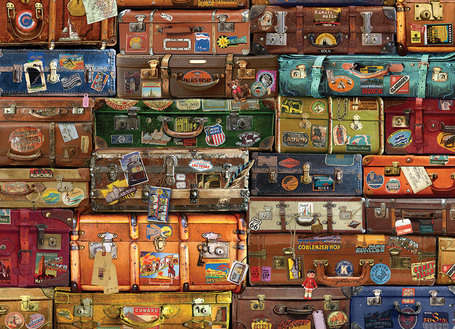 Luggage 1000 piece Cobble Hill