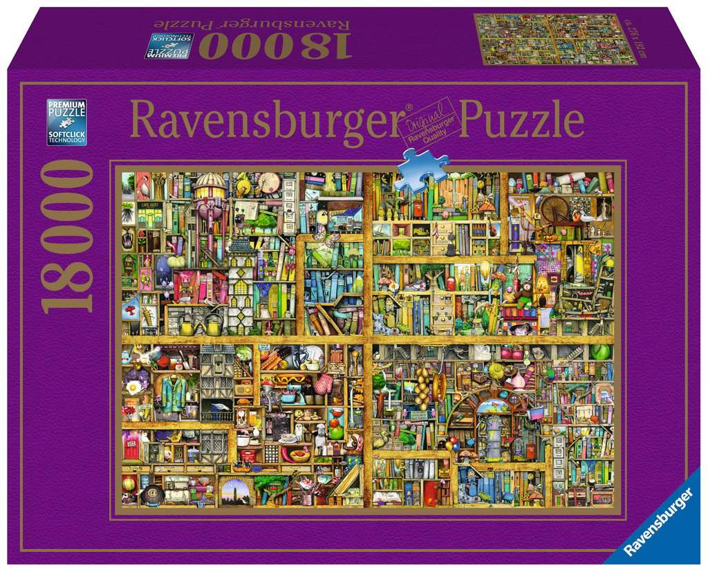 Magical Bookcase 18,000 piece Ravensburger