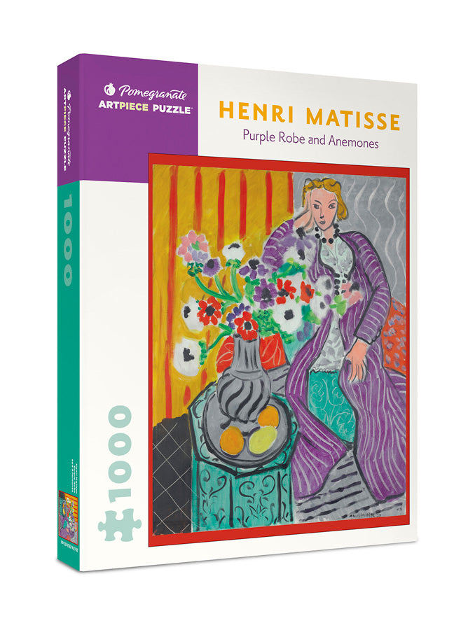 Henri Matisse - Purple Robe and Anemones 1000 pc Pomegranate Puzzle
