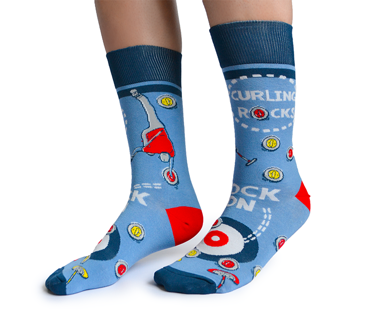 Uptown Sox Men's - Curling