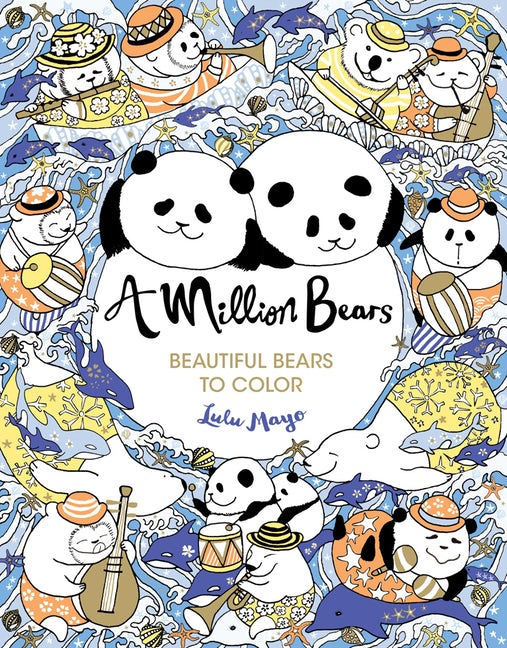 Colouring Book - A Million Bears