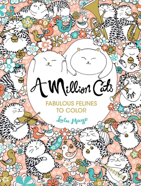 Colouring Book - A Million Cats
