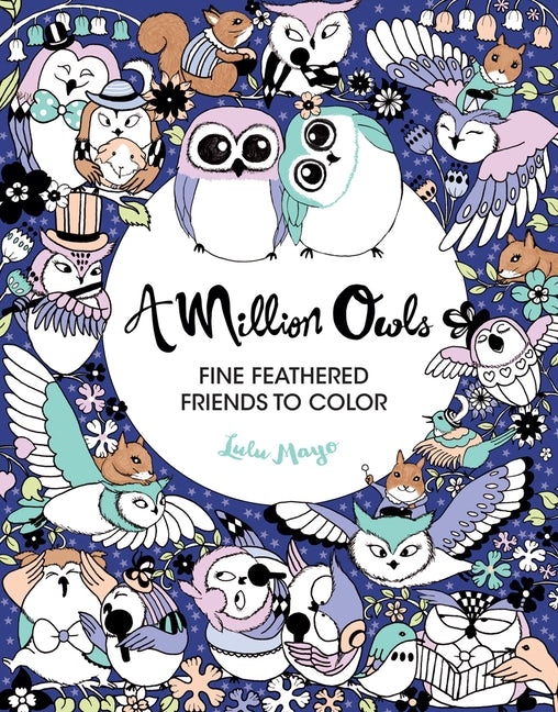 Colouring Book - A Million Owls