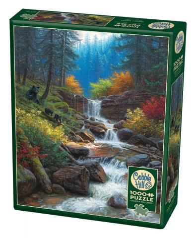 Mountain Cascade 1000 piece Cobble Hill