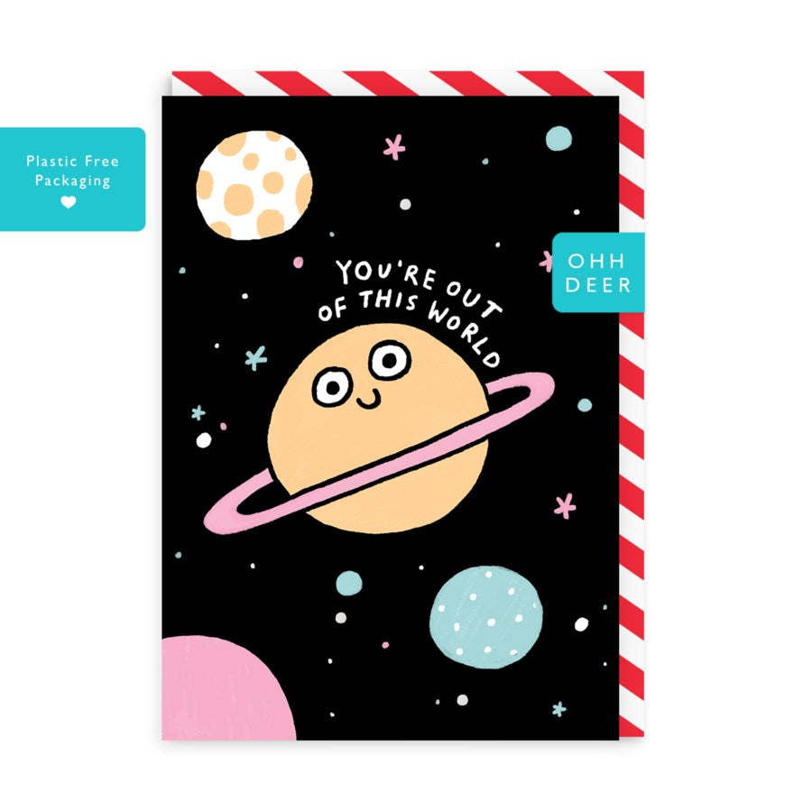 Out Of This World - Blank Card