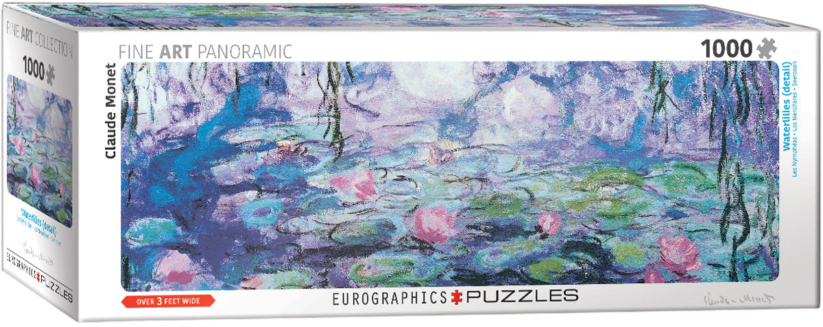 Panorama Water Lilies 1000 piece Eurographis