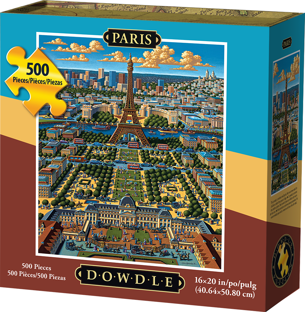 Dowdle - Paris 500 pc Puzzle