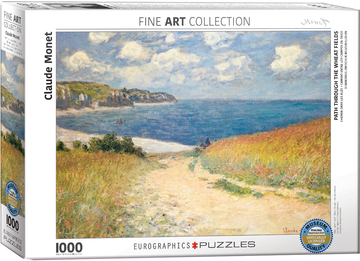 Path Through the Wheat Fields  1000 piece Eurographics