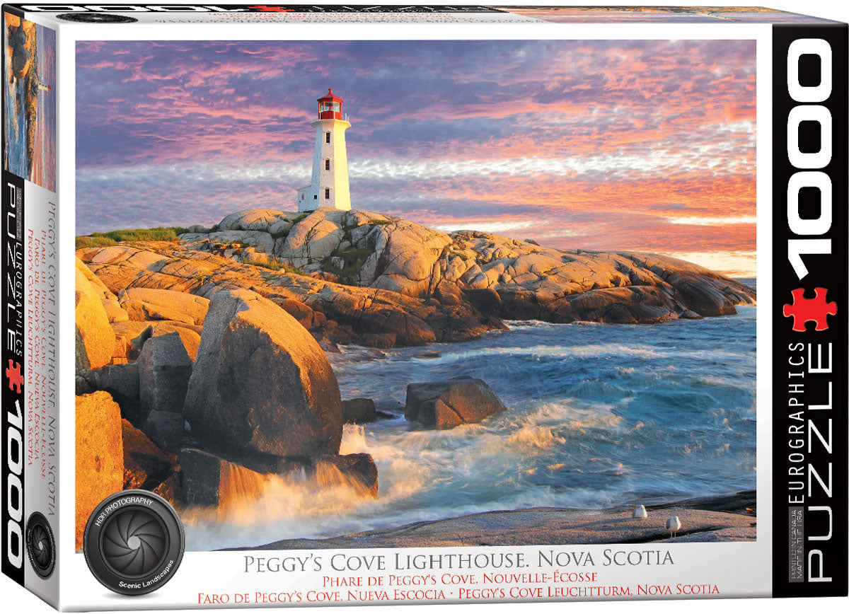 Peggy's Cove Lighthouse 1000 piece Eurographics