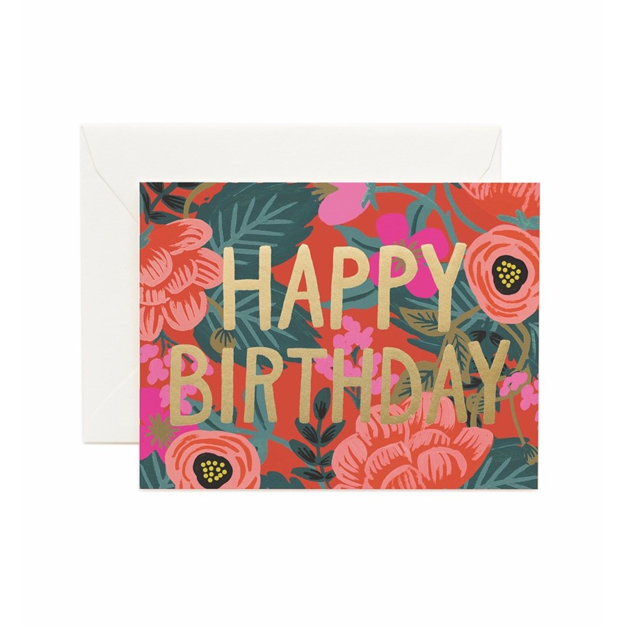 Poppy - Rifle Paper Birthday Card