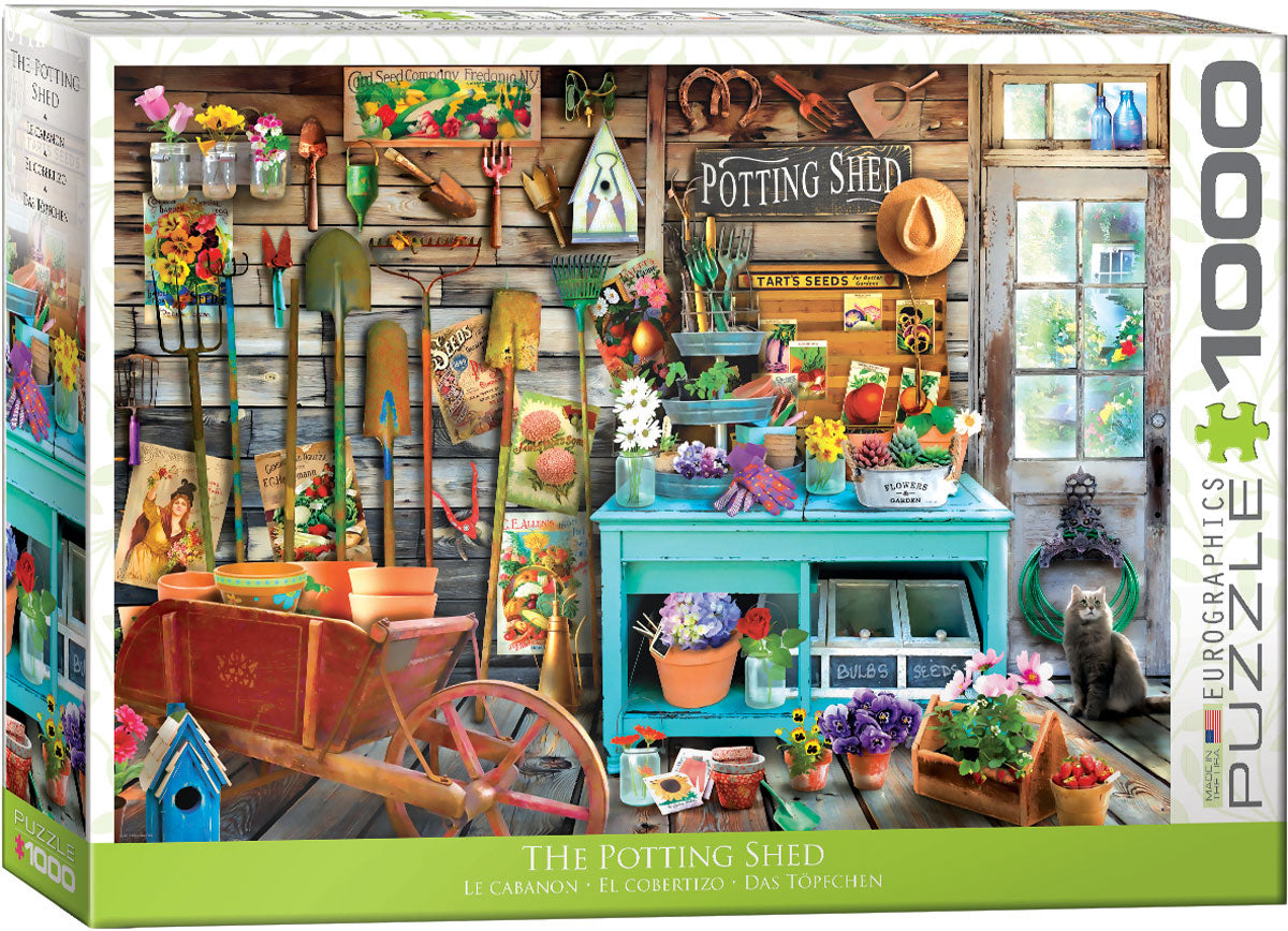 The Potting Shed 1000 piece Eurographics