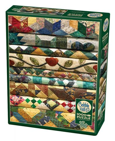 Grandma's Quilts 1000 piece Cobble Hill