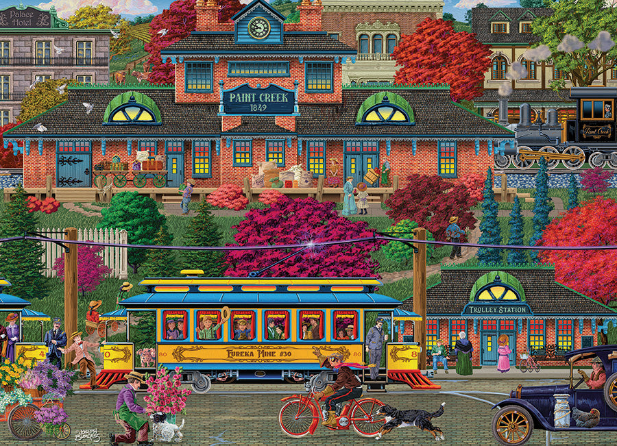 Trolley Station 500 piece Cobble Hill
