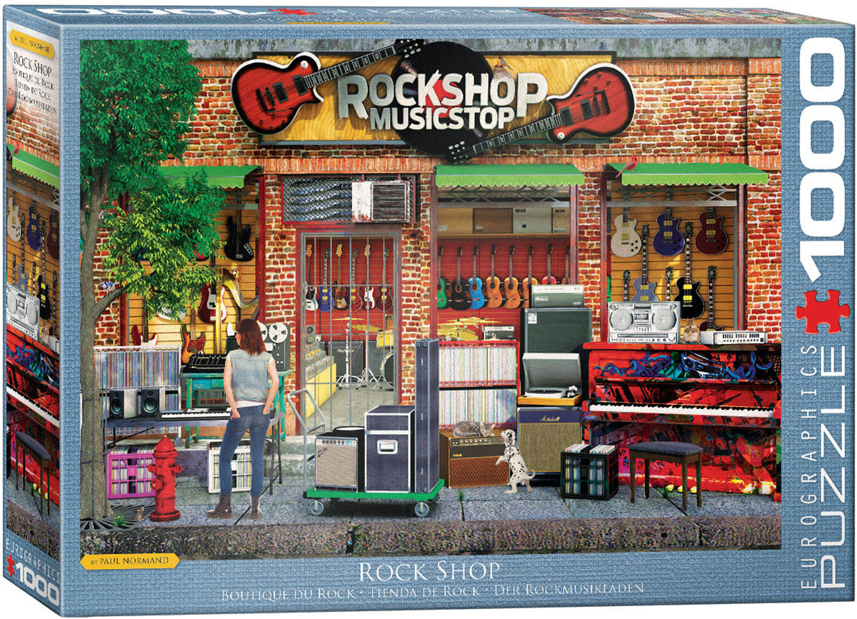 Rock Shop 1000 piece Eurographics