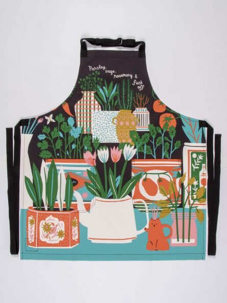 Parsley, Sage, Rosemary & Fuck Off Apron - BlueQ