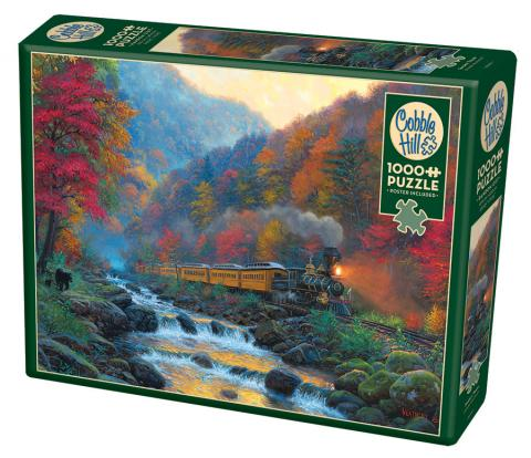Smoky Train 1000 pc Cobble Hill
