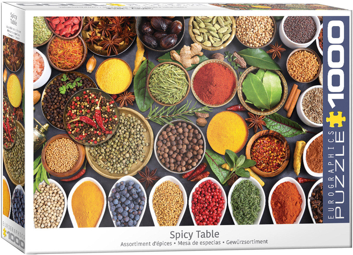 Spicy Table 1000 piece Eurographics