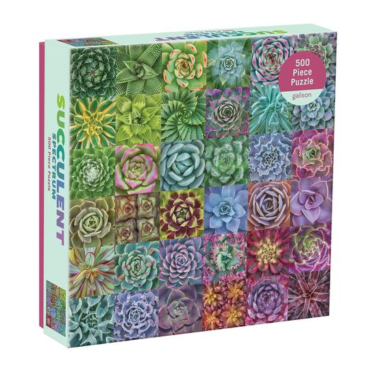 Gallison - Succulent Spectrum 500 pc Puzzle