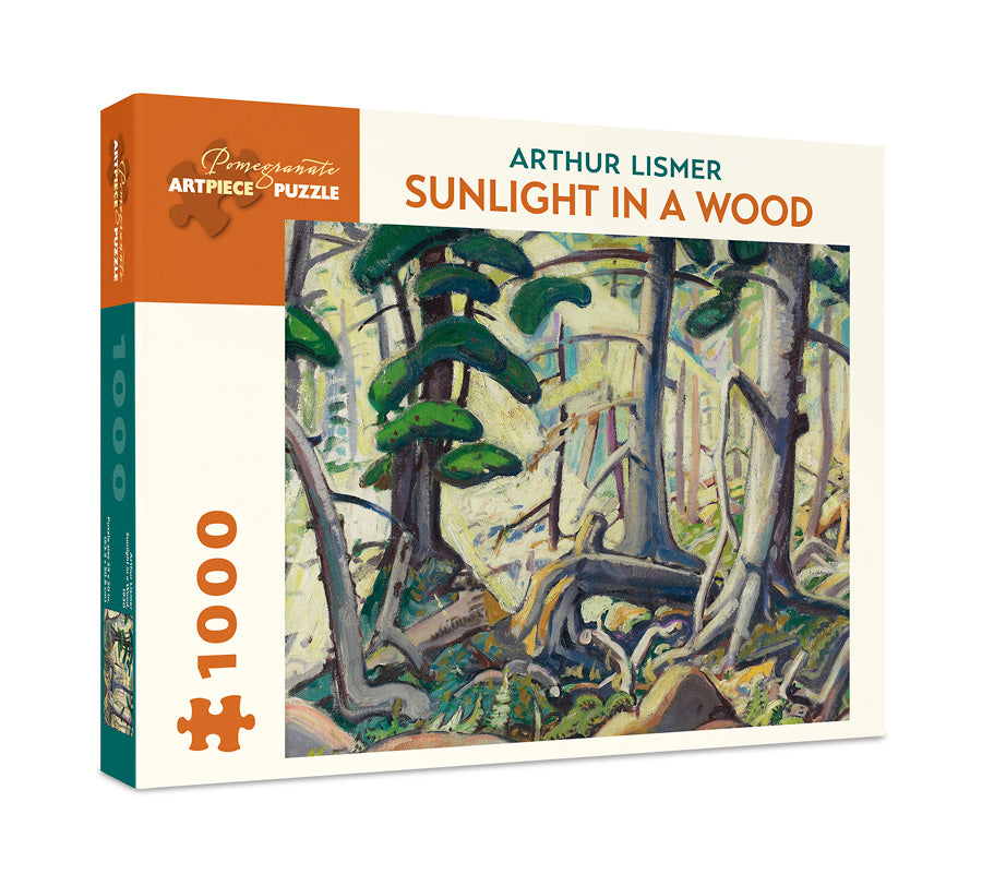 Arthur Lismer - Sunlight in a Wood 1000 pc Pomegranate Puzzle