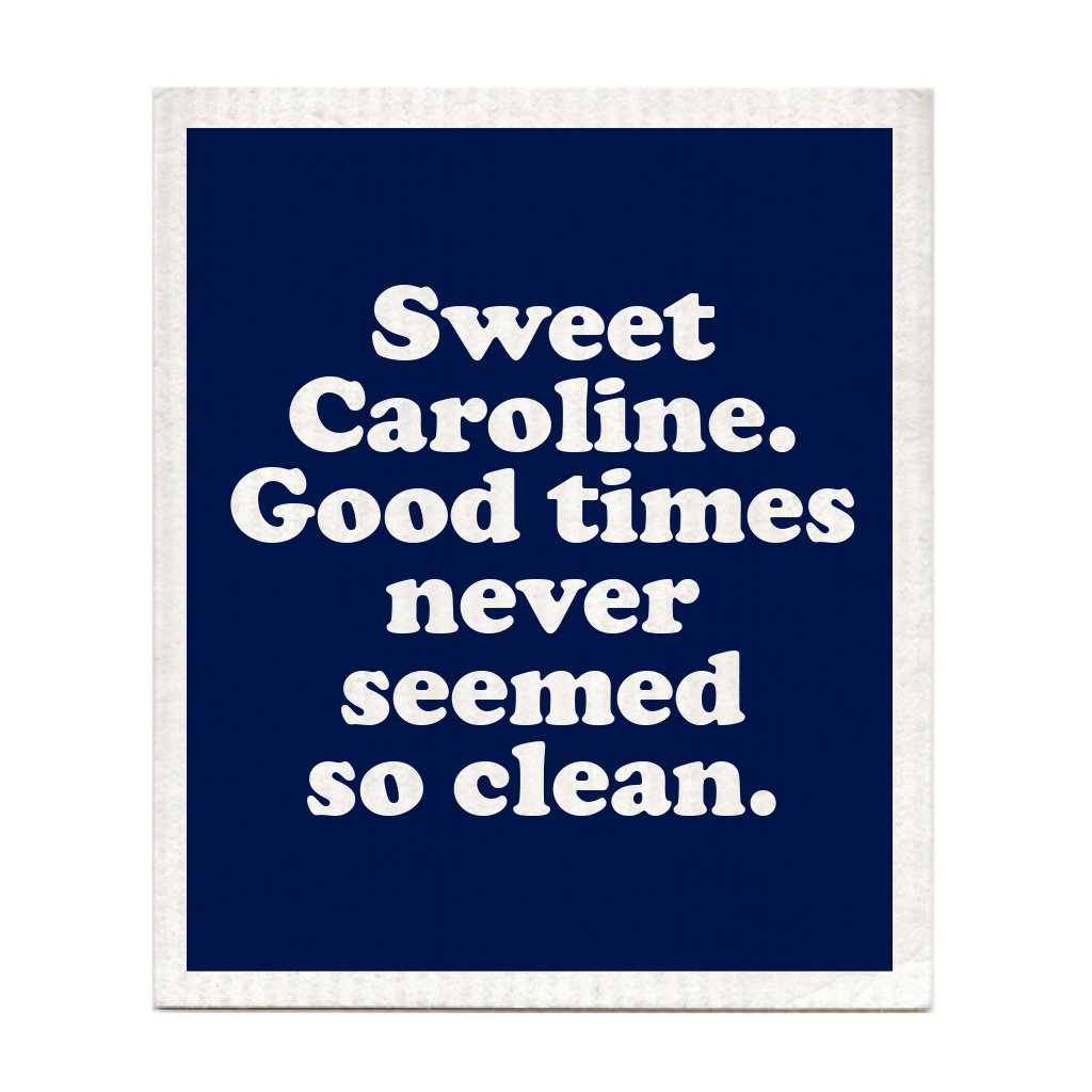 Sweet Caroline Swedish Dishcloth
