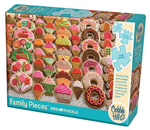 Sweet Treats 350 piece - Family Puzzle