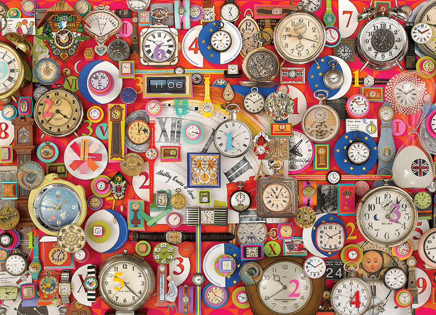 Timepieces 1000 pc Cobble Hill