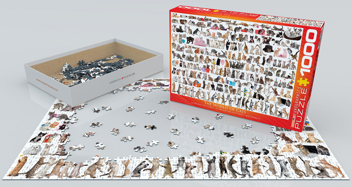The World of Cats 1000 piece Eurographics