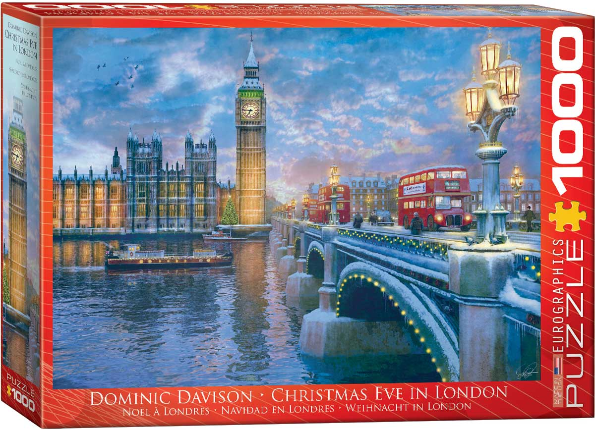 Christmas Eve in London 1000 piece Eurographics