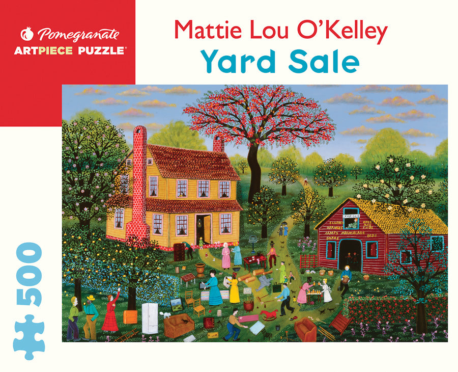 Mattie Lou O'Kelley - Yard Sale 500 pc Pomegranate Puzzle