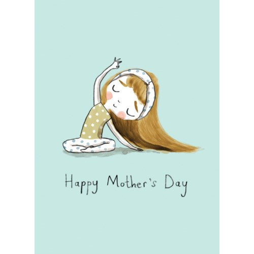 Yoga Stretch Mother's Day Card