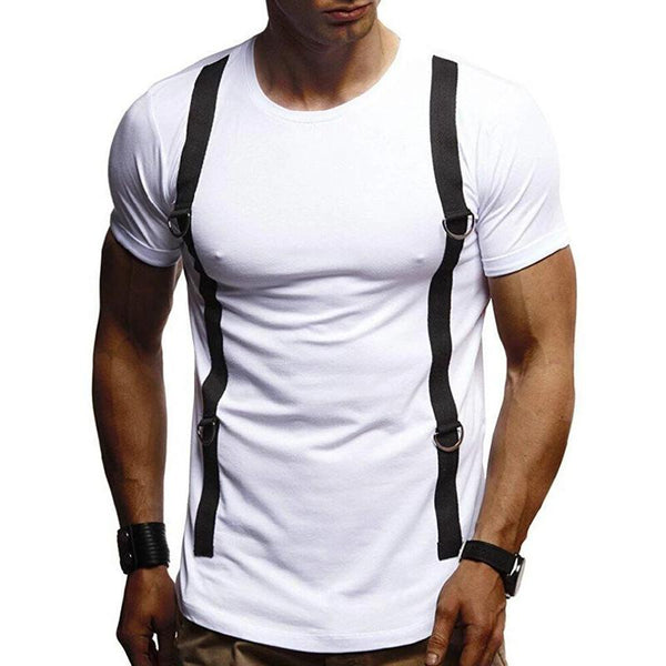Men's Casual Slim Short Sleeve T-Shirt
