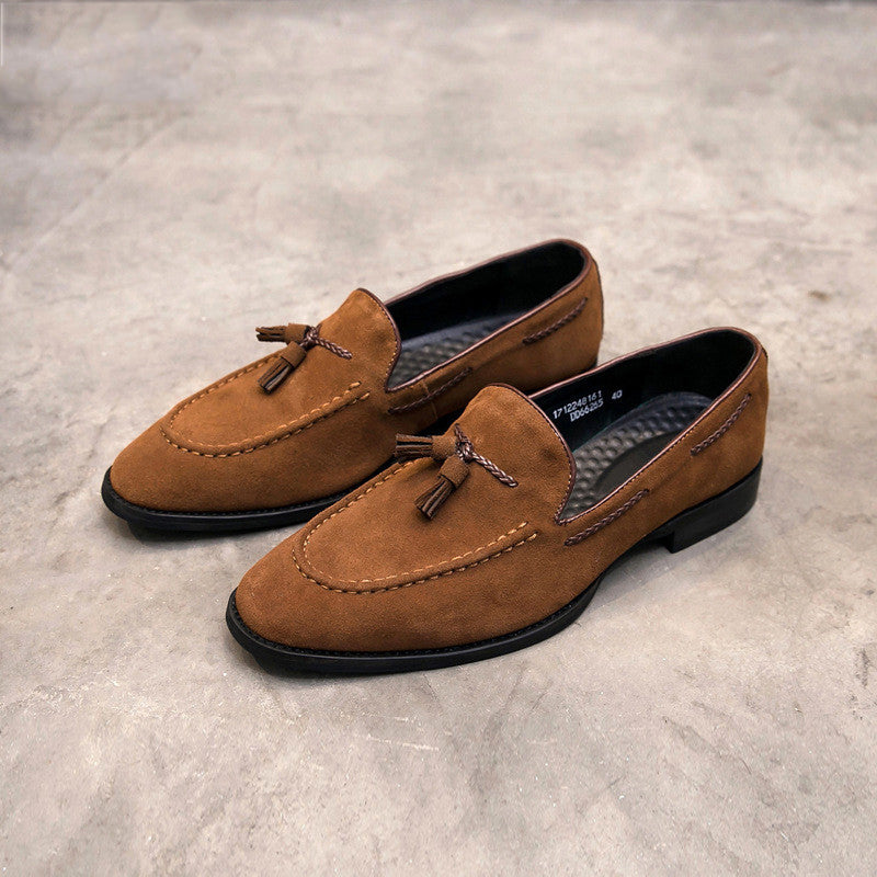 Men's Fashion Casual New Real Cow Leather Loafer
