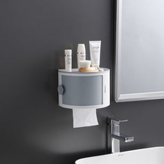 Toilet Paper Holder Bathroom Organizer Multifunction Roll