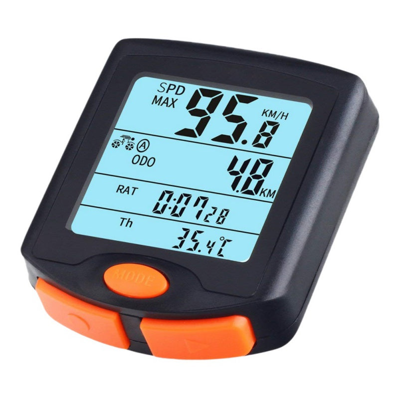 Bike Riding Stopwatch Four Screen Display With Luminous Bicycle Accessories