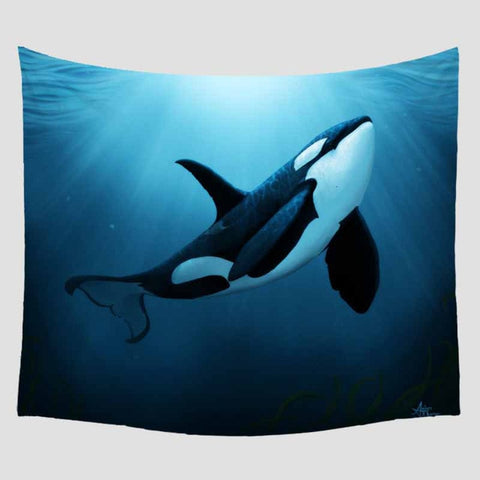 Animal Printed Blanket Wall Hanging Home Decoration