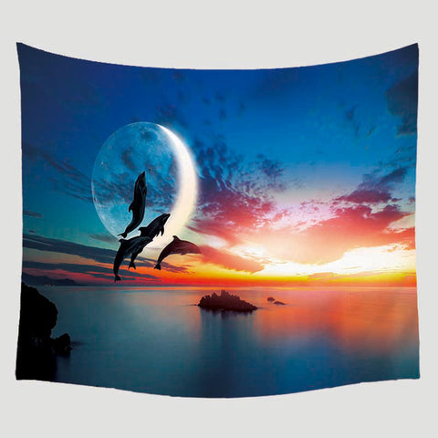 Animal Printed Pattern Blanket Wall Hanging Home Decoration