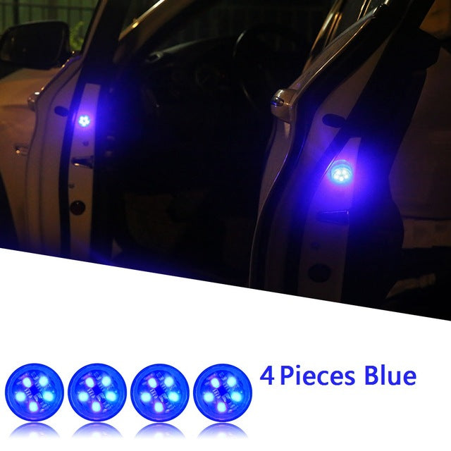 LED Car Opening Door Safety Warning Anti-collision Lights