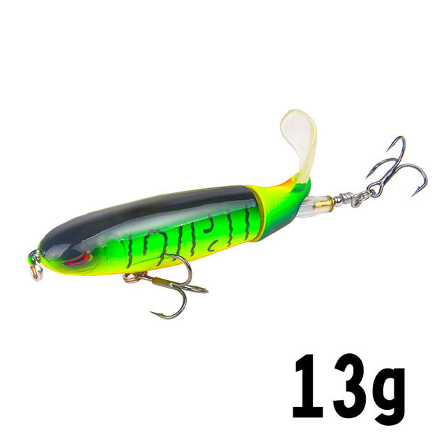 Fishing Lure Artificial Bait Hard Plopper Soft Rotating(Buy 1 Get 1 For Free)