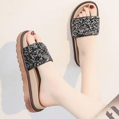 Women Bling Shining Summer Sandals Slippers