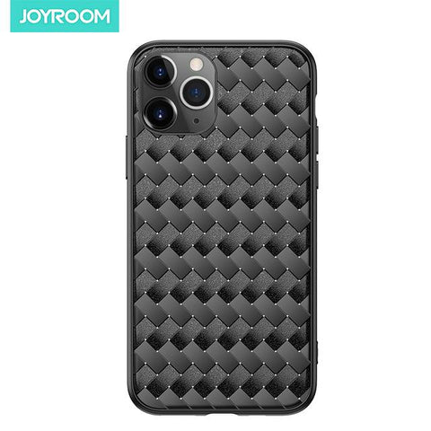 Leather Breathable Mesh Case Cover For iPhone