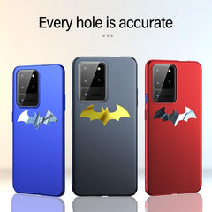 Luxury Thin Metal Bat man Case for Samsung Galaxy