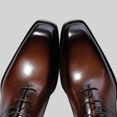 Men's Fashion Handmade Lace-Up Casual Dress Shoes
