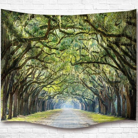 Tree Overhang Tapestry Wall Hanging Tapestry