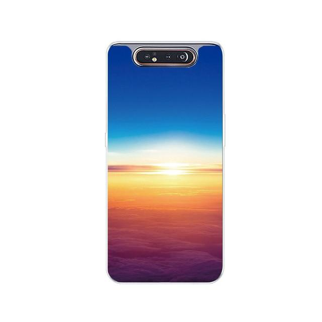 For Funda Samsung Galaxy A80 Case Cover Soft Silicone Phone Case