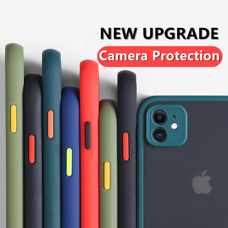 Camera Lens Protection Phone Case For iPhone 11