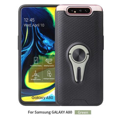 Samsung Galaxy A80 A90 Case Built-in Magnetic Metal Sheet Back Cover