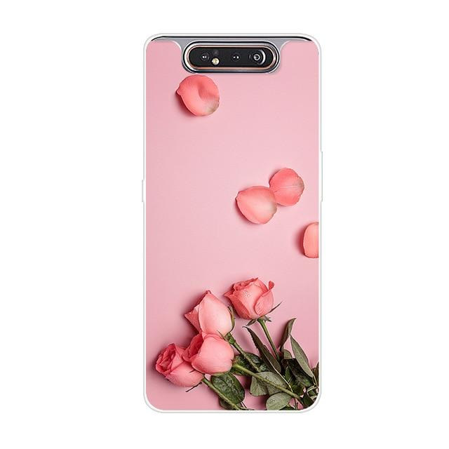 Samsung Galaxy A80 silicon Back Cover Fashion Case