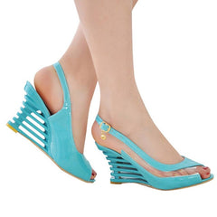 Women's Fashion Buckle Peep Toe Sandals