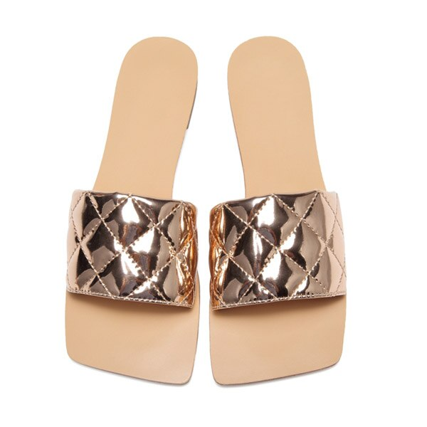Women's Fat Square Head Candy Colors Sandals