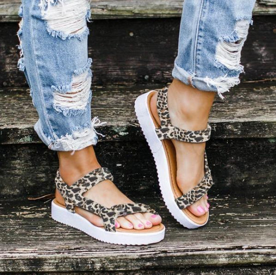 Women's Fashion Summer Flat Sandals